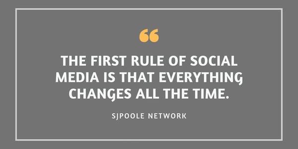 First rule of social media