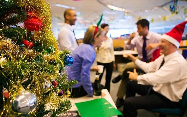 christmas office ideas