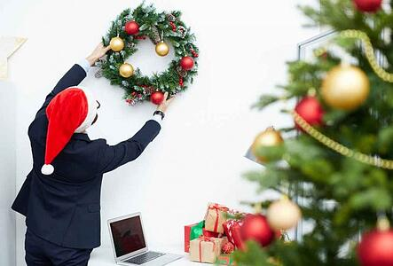 Christmas office to rent